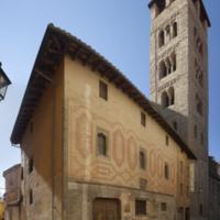 ref: PM_099300_E_Vic; Casa de parroquia i torre de la catedral